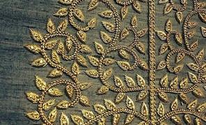 #刺绣#印度传统手工刺绣