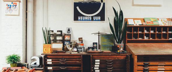 让铅字和旧印刷机重新散发光彩:比利时安特卫普 Kastaar Press 复古印刷厂