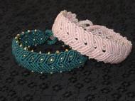 【囡囡手作】米珠蜡绳手绳