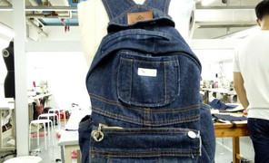 分享我将一条不合适的背带裤改成