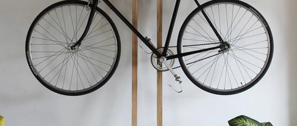 自行车控- 各种有爱的室内自行车搁架美图分享