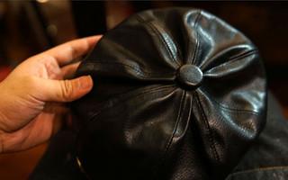 手工皮具DIY制作教程:皮帽子制作过程与手工教程
