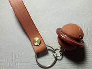 爱马仕专用马缰革   铃铛+钥匙扣