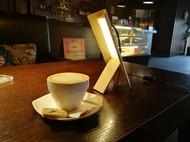 原木小台灯