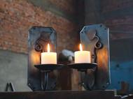 手锻 壁挂烛台