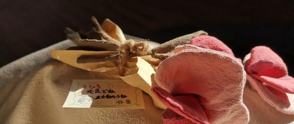 非鱼手作原创—《千与千寻》香豌豆花儿