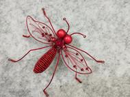 刺绣立体昆虫胸针
