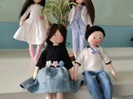 攒了好几个月的娃娃作品大集合啦~