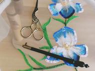 法式钩针刺绣