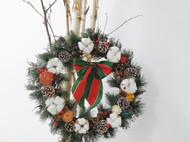#作品记录# 圣诞花环和圣诞树细节