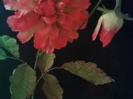 纸艺:皱纹纸仿真花