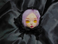 【锦屿】原创手作黏土娃娃诡异胸针