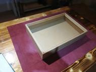 商务风传统工艺手工皮箱