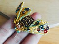 法式钩针刺绣——昆虫篇