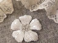 法式刺绣-立体花