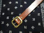 男士马缰革皮带