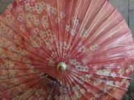 修补油纸伞
