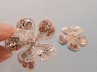 法式刺绣-小花
