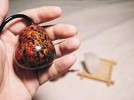 纯手工制作,天然大漆(又名国漆,土漆,生漆)手工礼物。 制作工艺繁琐,但每一个作品都是世上独一无