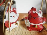 冬日#羊皮招财猫