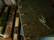 手工本~竹子的色韵