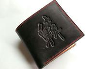 给老弟做了个钱包