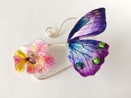 紫蝴蝶——耳掛·蝶戀花
