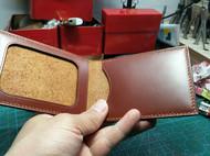 棕色油蜡驾照夹