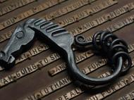 手锻 马头钥匙扣