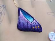 立體——紫蝶