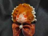 手作娃娃兔家系列兔乐斯胸针