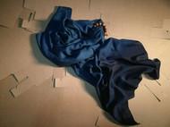 彰施|草木染羊毛钻石纹围巾