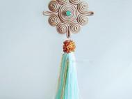 自在小腰原创设计盘扣饰品可制作为耳环或胸针
