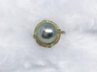 大溪地珍珠/925银镀金