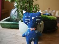 手工猫咪玩偶