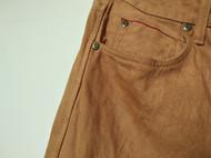 柿染牛仔裤