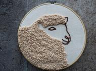 绵羊戳戳绣