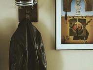 不锈钢 头盔和车服挂架