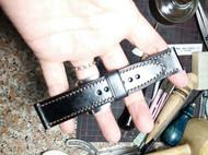 手工皮植鞣牛皮表带简约款