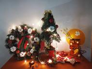 #作品记录# 圣诞树、圣诞花环