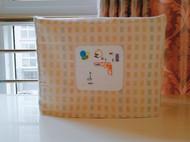 刺绣布艺缝纫机防尘罩