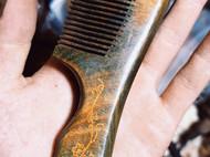 绿檀木梳子