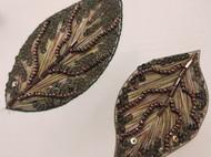 法式刺绣叶子