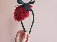 可爱草莓发饰