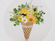 花朵与食物的碰撞2 | 压花画