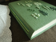 一个人的荫绿花草时间,做一本手帐