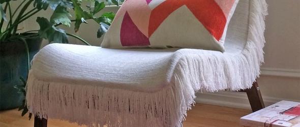 布艺DIY教程——给椅子做一个性感外套