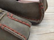 手工男鞋 中国风真皮系带休闲鞋