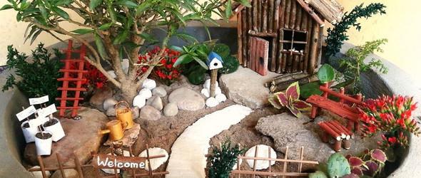 微型花园DIY教程:适合初学者的微缩花园教程升级版