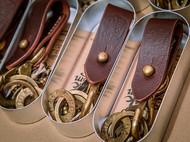 印第安流苏+机车复古钥匙扣  手工做旧黄铜五金  意大利A级鞍革